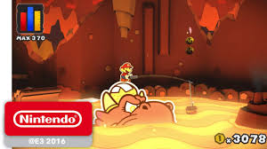 Paper Mario: <b>Color</b> Splash - Official Game Trailer - <b>Nintendo</b> E3 2016