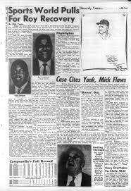 young sports world is pulling for roy campanella s recovery ny new york daily news published this on jan 29 1958