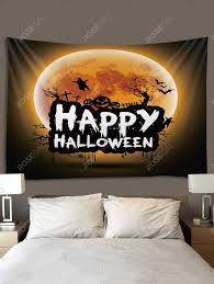 <b>Digital Printing Moon Halloween</b> Waterproof Tapestry | Tapestry ...