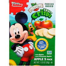 Brothers-All-Natural, <b>Fruit Crisps</b>, <b>Disney Junior</b>, Apples and ...