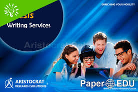 Professional thesis writing services  Dissertation Writing