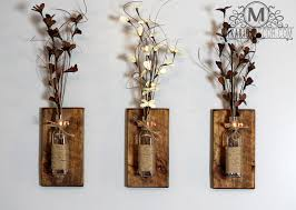 chic large wall decorations living room: large rustic wall decor makipera rustic wall sconcemason jar sconcewood wall sconcesmason jar decorwall sconcerustic sconcemakarios decorsconcessconceshabby chic sconcesmason jarjar sconcecopper sconcerustic
