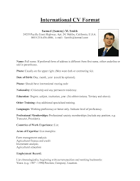 sample of a curriculum vitae for employment online resume sample of a curriculum vitae for employment how to write a cv or curriculum vitae