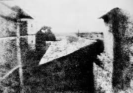 photography   wikipedia view from the window at le gras  or  the earliest surviving camera photograph