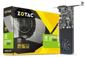 ≡ <b>Видеокарта ZOTAC</b> GeForce <b>GTX 1030</b> 2GB GDDR5 (ZT ...