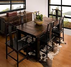 chair dining room tables rustic chairs: rustic wooden dining room tables country style dining room sets brown leather dining chairs sets solid wood dining chair area solid fiber floor carpet tile
