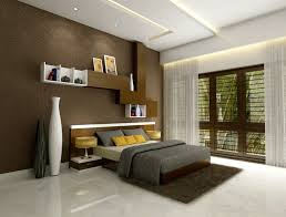 bedroom design red contemporary wood: luxury bedroom inspiration red wood wall cabinet white ceiling rectangle motif with led lamp inside