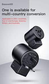 <b>BASEUS</b> #<b>Rotary</b> Travel Adapter Worldwide... - Oneplus ...