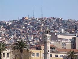 İzmir ilimiz ve tüm ilçeleri