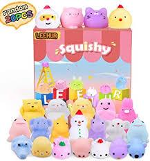 <b>LEEHUR</b> 20Pcs <b>Cute</b> Soft Squishy Toy, Squishy Toy Stress Relieve ...