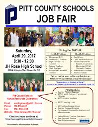 pitt county schools overview pitt county schools will be hosting a job fair