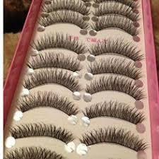 #5001 Fashion Slender Eye Lash <b>Gracious Makeup</b> Handmade ...