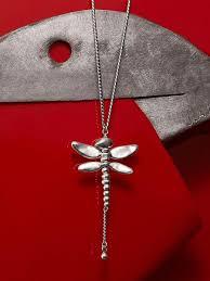 Ожерелье <b>UNOde50 Long</b> dragonfly <b>UNOde50</b> 14615731 в ...