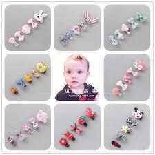 6pcs <b>Cute Baby Girls Hair</b> Accessories Kids Bow Headbands ...
