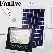 <b>2PCS Solar LED</b> Light <b>Spotlight</b> 10W/25W/40W/60W/100W/120W ...