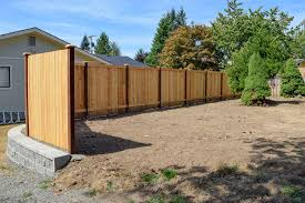 wall privacy fence