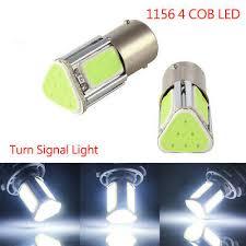 <b>BA15S</b> 382 <b>1156</b> R10W 382 4 <b>COB LED</b> Car Turn Signal Reverse ...