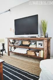 diy rustic tv console electrical home decor painted furniture rustic furniture build your own rustic furniture