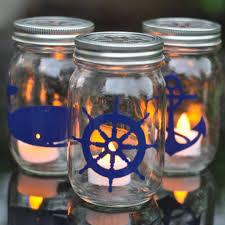 jar crafts home easy diy: mason jar ideas for summer nautical mason jar lantern tutorial mason jar crafts