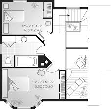 Topsider Salt Box Style Home Plan D    House Plans and MoreMountain Home Plan Second Floor   D    House Plans and More