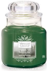 <b>Ароматическая свеча</b> в банке - Yankee Candle Evergreen Mist ...