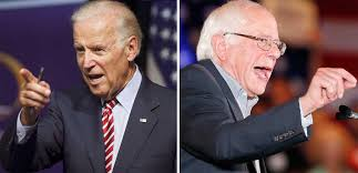 Image result for joe biden and bernie sanders