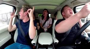 WATCH  James Corden joined by One Direction for Carpool Karaoke