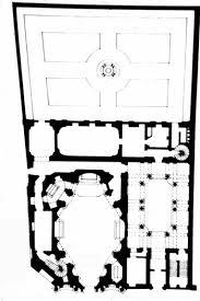 Plano de la iglesia de San Carlo alle Quattro Fontane