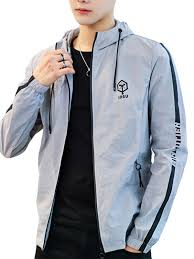 Men's Casual Jacket Plus Size Fashion <b>Cool Stylish Hooded Zipper</b> ...