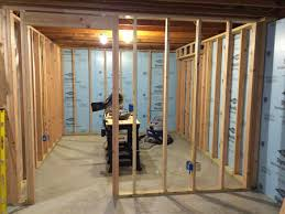 doorway basement home office framing basement home office