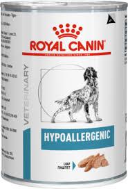 <b>Royal Canin Hypoallergenic</b> Лечебные <b>консервы</b> при пищевой ...
