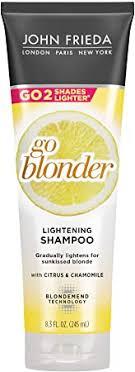 John Frieda Sheer Blonde Go Blonder Shampoo, 8.3 ... - Amazon.com