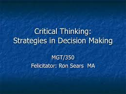 Barriers to Critical Thinking LSH     Critical Thinking    ppt     SlideServe