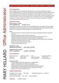 Office administrator resume examples, CV, samples, templates, jobs ... Office administrator resume templates