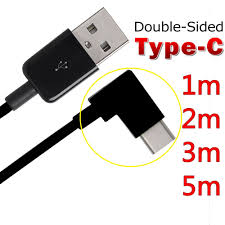 compare prices on type c degree usb online shopping buy low 0 2 1 2 3m right angle 90 degree usb c type c cable