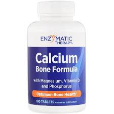 Enzymatic Therapy, <b>Calcium Bone Formula with</b> Magnesium ...