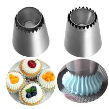 Wonderful Russian Ring Cookies Mold Piping <b>Nozzles Ice Cream</b> ...