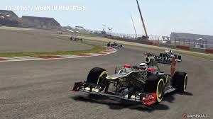 F1 2012 JEUX vidéo