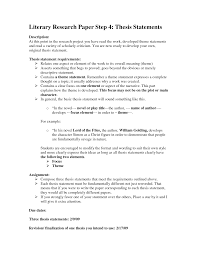Writing a research essay thesis