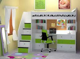 nice loft bed with desk underneath bunk bed office