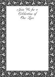 black and white invitation templates ctsfashion com party invitation templates printable black and white black and white birthday invitation templates