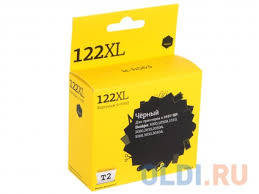 <b>Картридж T2 IC-H563 №122XL</b> черный (black) 480 стр. для HP ...