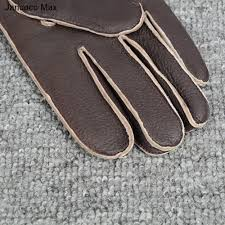 PREMIUM <b>Jancoco Max 2019</b> Fashion Genuine Deerskin Gloves ...