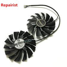 <b>2pcs</b>/<b>lot video cards cooler</b> GTX 1080/1070/1060 fan For msi ...
