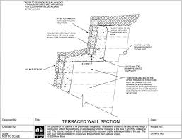 Small Picture Allan Block Retaining Wall Design Details