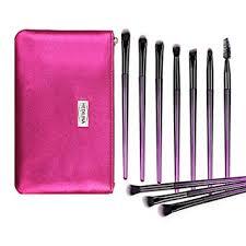 <b>10 pcs Professional</b> Eye <b>Makeup</b> Brushes Kit with a <b>Portable</b>...