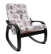 """Купить <b>Кресло</b>-<b>качалка Сайма</b> МИ, <b>каркас</b> венге, ткань """"Vinum 03 ..."""