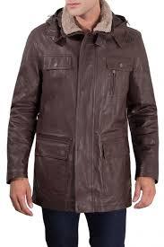 <b>Кожаная куртка AD MILANO</b> арт DAR562_DARK_BROWN ...