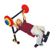 Детская <b>скамья для жима DFC</b> - купить по лучшей цене в детском ...