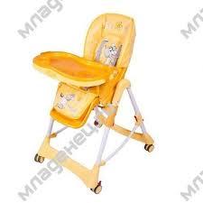 <b>Стульчик</b> для кормления <b>Jetem Piero</b> Fabula Horse Yellow: купить ...
